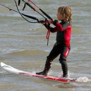 corso kite surf bambini roma